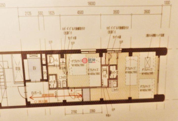 日本大阪府Osaka的商业地产,<难波一栋民宿>大阪市浪速区元町1-11-4,编号44189601