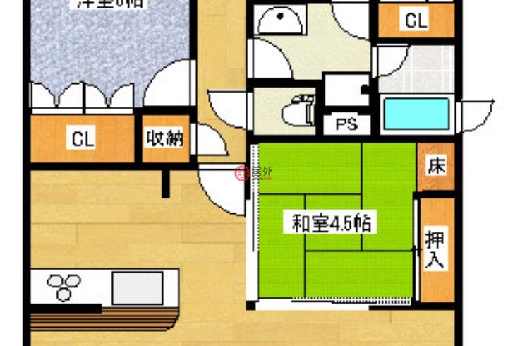 日本大阪府的房产,東大阪市長田西2-6-31,编号44958638