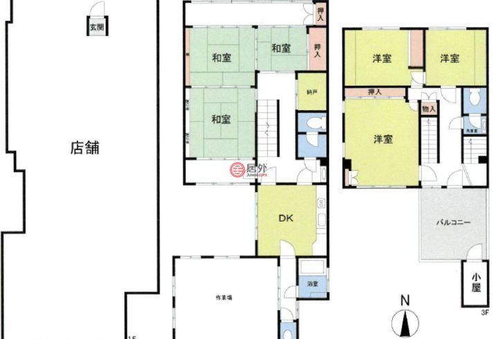 日本大阪府的商业地产,大阪市中央区西心斎橋2,编号46147513