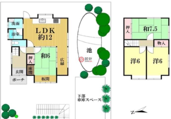 日本Kyoto Prefecture京都市的房产,编号43308121