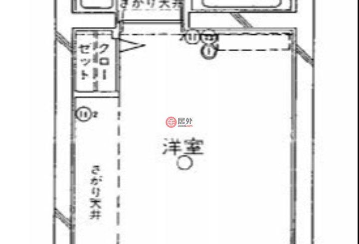 日本Kanagawa PrefectureYokohama的公寓,原町5-25,编号59276457