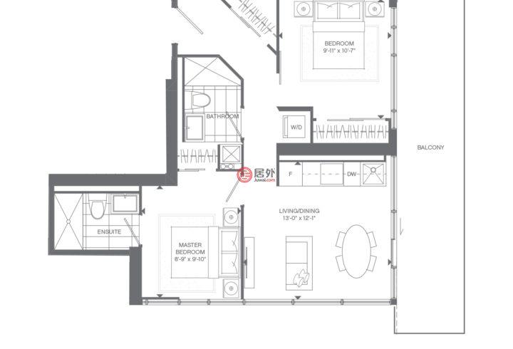 加拿大安大略省多伦多的房产,595 Yonge St,编号57768856