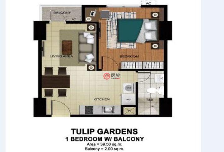 菲律宾Metro ManilaTaguig的房产,8th Ave, 36th Street,编号53641144