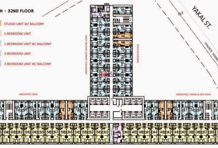 菲律宾Metro ManilaMakati的房产,编号49981492