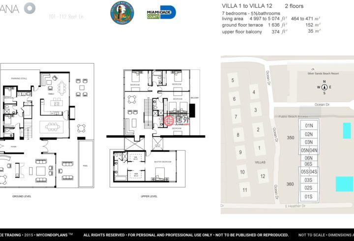 美国佛罗里达州基比斯坎的房产,105 Reef Ln,编号48570471