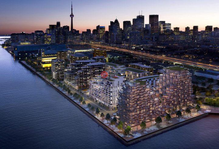 加拿大安大略省多伦多2卧2卫新房的房产