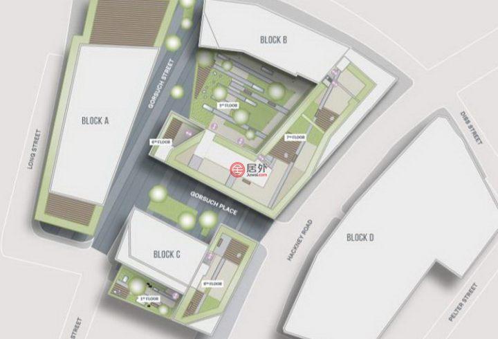 英国英格兰伦敦的房产,97 – 137 Hackney Road,编号51743426