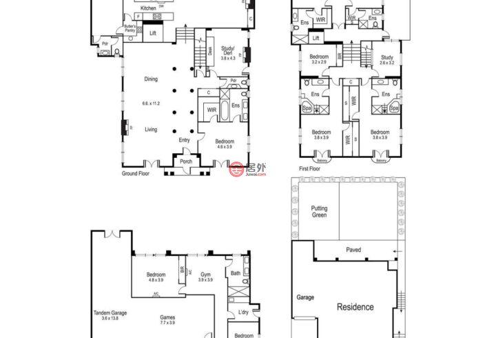 澳大利亚维多利亚州Hawthorn的房产,24 Fordholm Road,编号56467357